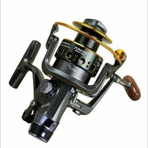 XXBFDT Anti-Corrosion Moulinet Carpe de Peche – Moulinet de pêche en mer à tête métallique-Modèle 3000