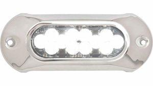 Attwood Marine 66UW12W-7 Attwood 66uw12 W-7 lumières LED étanche Armor, 5.000 lumens, blanc, Única