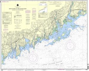 Carte de la NOAA 12368: Rive-nord de Long Island Sound Sherwood Point vers le port de Stamford