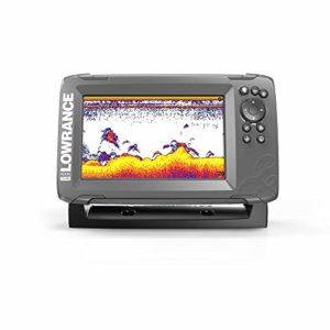 Lowrance HOOK2-7X Hook2 GPS Splitshot HDI Fish Finder 7″ Noir
