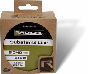 Radical Substantil Line 1450 m 8,00 kg 16,50 kg Vert Transparent 1450 m