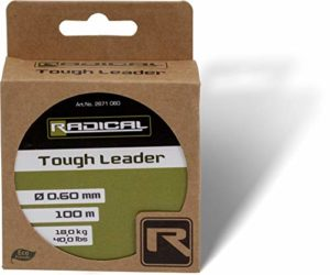 Radical Tough Leader 100 m 13,6 kg 30 lbs Vert Clair Ø 0,50 mm 100 m