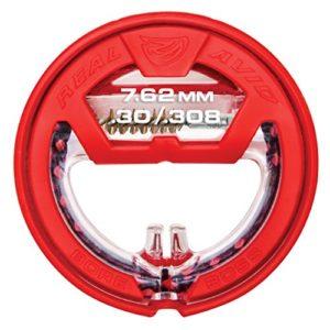 Real Avid Bore Boss Kal.30/.308/7.62mm Accessoire de Nettoyage d'arme Mixte, Rouge, no Size