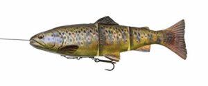 Savage Gear 4D Line-Thru Trout Moderate Sink Ms – 15cm – 40G – Dark Brown Trout – 57387