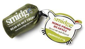 Smidge Unisexe Moustiquaire Super légère Filet pour la tête Vert Taille Unique