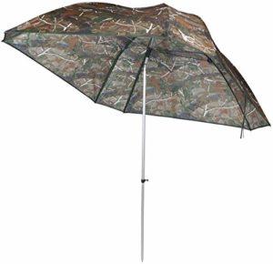 VTK Fishing, Parasol de pêche Camo 250, Oxford, Aluminium, Superior.