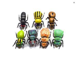 YZD Mouches sèches Super simulées pour Les truites de 6-12 Ans (24 Insectes simulés)